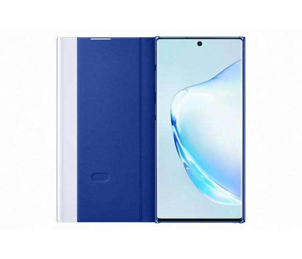 Samsung Clear View Cover do Galaxy Note 10+ niebieski - 508404 - zdjęcie 2