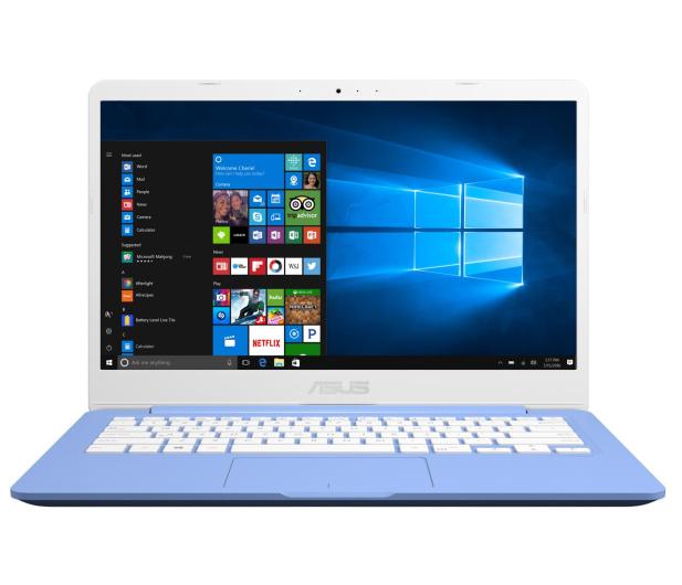 ASUS VivoBook E406MA N4000/4G/64/Win10+Office Niebieski - 508830 - zdjęcie 3