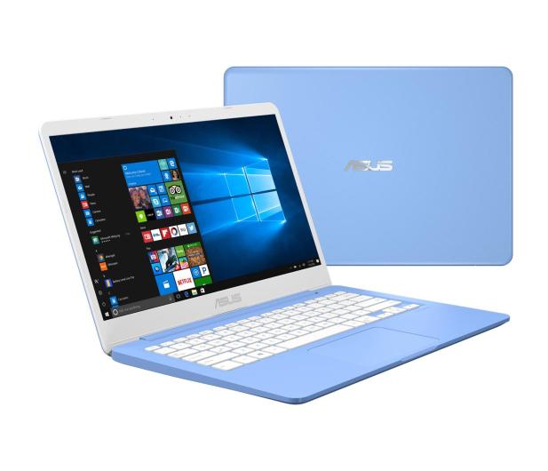 ASUS VivoBook E406MA N4000/4G/64/Win10+Office Niebieski - 508830 - zdjęcie 2