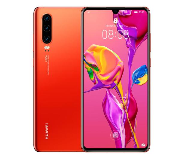 Huawei P30 128GB Bursztyn - 501459 - zdjęcie