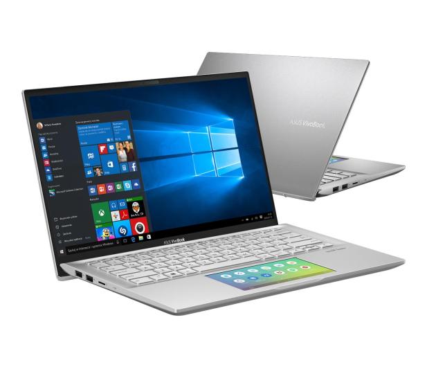 ASUS VivoBook S14 S432FA i5-8265U/8GB/512/Win10 Silver - 509083 - zdjęcie