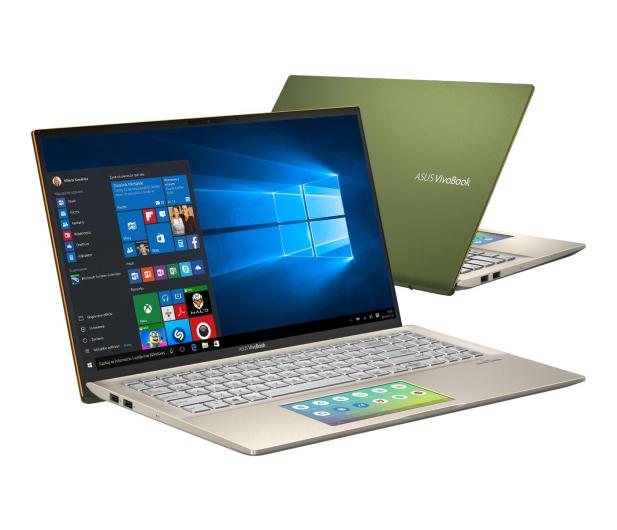 ASUS VivoBook S15 S532FL i5-8265U/8GB/512/Win10 Green - 509104 - zdjęcie