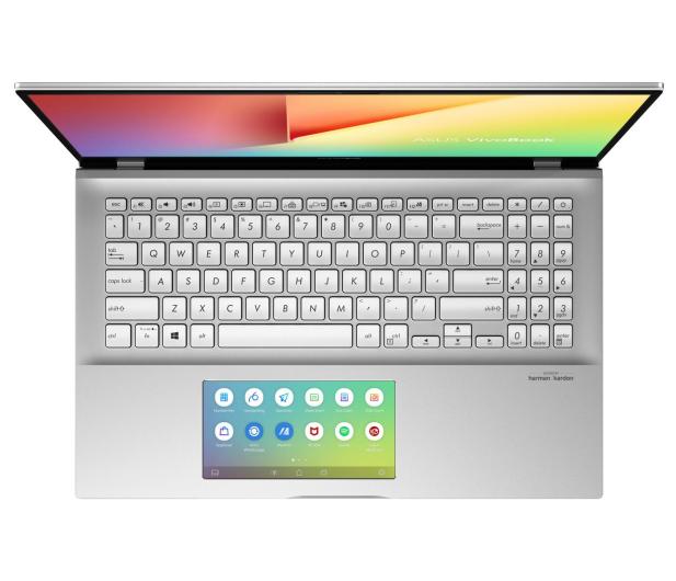 ASUS VivoBook S15 S532FL i5-8265U/8GB/512/Win10 Silver - 509107 - zdjęcie 4