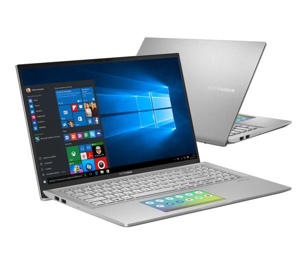 ASUS VivoBook S15 S532FL i5-8265U/8GB/512/Win10 Silver - 509107 - zdjęcie