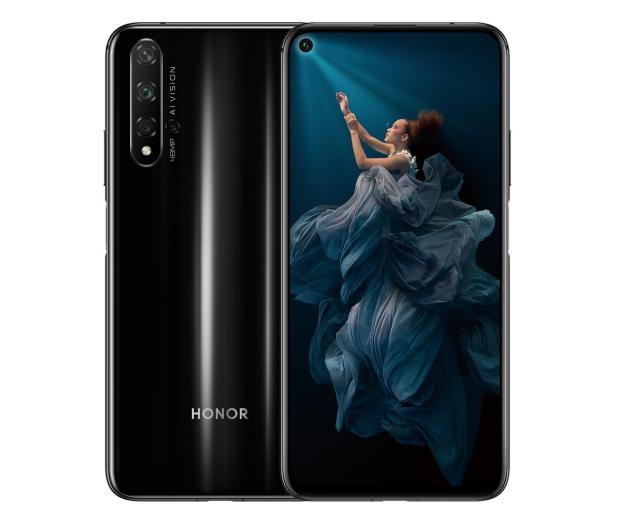 Honor 20 Dual SIM 6/128GB czarny - 503116 - zdjęcie