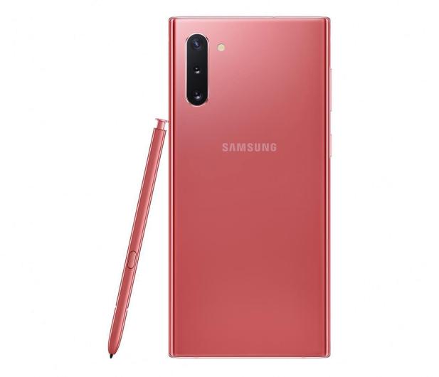 Samsung Galaxy Note 10 N970F Dual SIM 8/256 Aura Pink - 507921 - zdjęcie 3