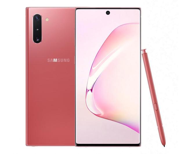 Samsung Galaxy Note 10 Aura Pink + PowerBank 10000mAh - 525529 - zdjęcie 2