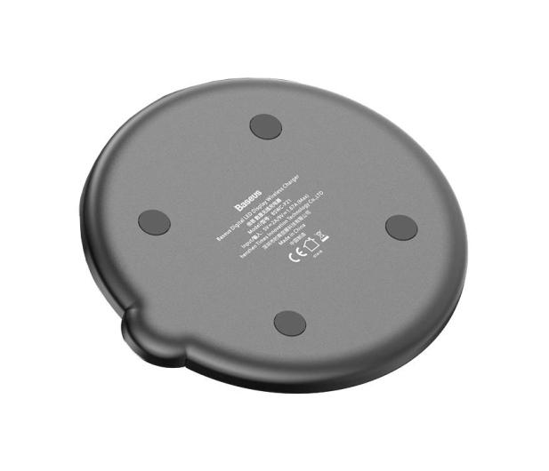 Baseus Ładowarka indukcyjna 10W (LED, czarny) - 509234 - zdjęcie 4