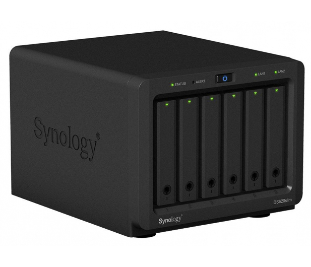Synology DS620slim (6xHDD, 2x2.5GHz, 2GB, 2xUSB, 2xLAN)  - 508994 - zdjęcie 3