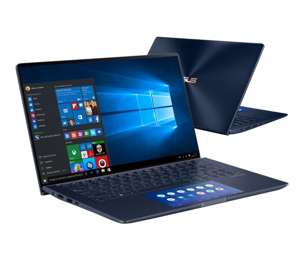 ASUS ZenBook 13 UX334FL i7-8565U/8GB/512/W10 Blue - 530616 - zdjęcie