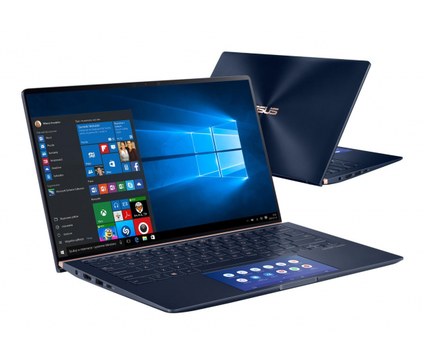 ASUS ZenBook 14 UX434FLC i7-10510U/16GB/1TB/Win10 Blue - 522936 - zdjęcie