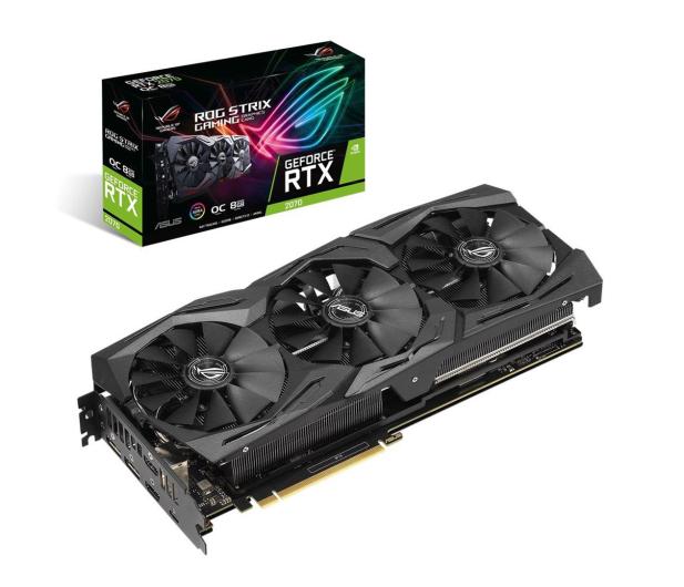 ASUS GeForce RTX 2070 SUPER ROG Strix OC 8GB GDDR6 - 509276 - zdjęcie