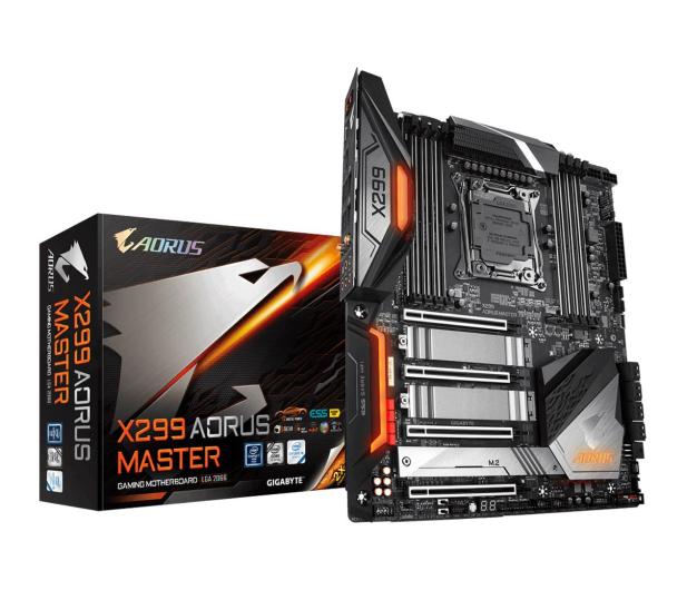 Gigabyte X299 AORUS MASTER - 509069 - zdjęcie