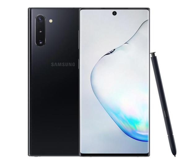 Samsung Galaxy Note 10 N970F Dual SIM 8/256 Aura Black - 507923 - zdjęcie