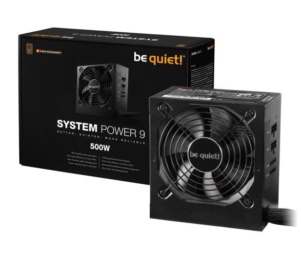 be quiet! System Power 9 500W CM 80 Plus Bronze - 509249 - zdjęcie
