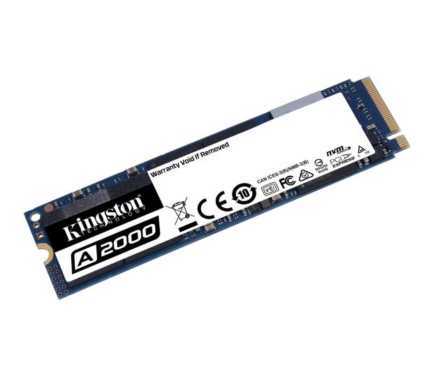 Kingston 250GB M.2 PCIe NVMe A2000 - 510262 - zdjęcie 2