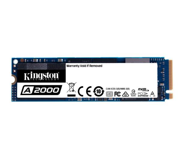 Kingston 250GB M.2 PCIe NVMe A2000 - 510262 - zdjęcie