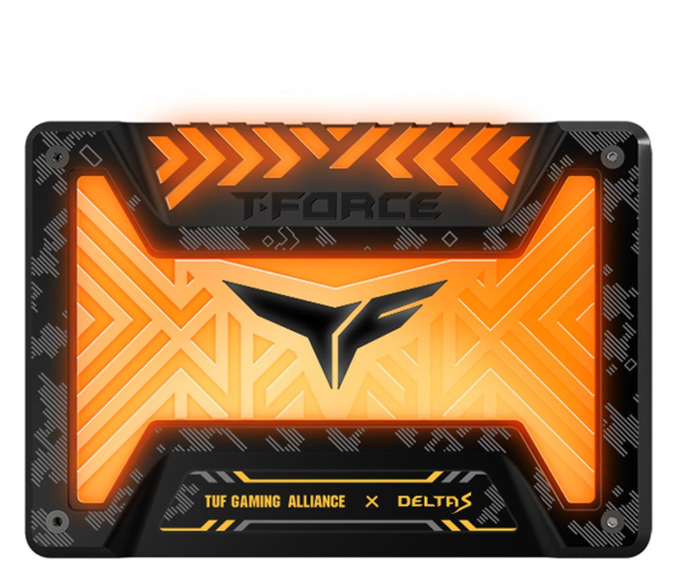 "Team Group 500GB 2,5"" SATA SSD T-Force Delta S TUF RGB  - 514400 - zdjęcie"