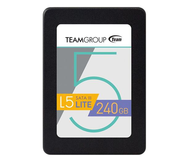 """Team Group 240GB 2,5"""" SATA SSD L5 LITE  - 514398 - zdjęcie"""