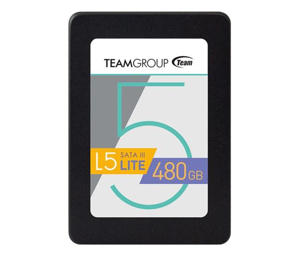 """Team Group 480GB 2,5"""" SATA SSD L5 LITE - 474616 - zdjęcie"""
