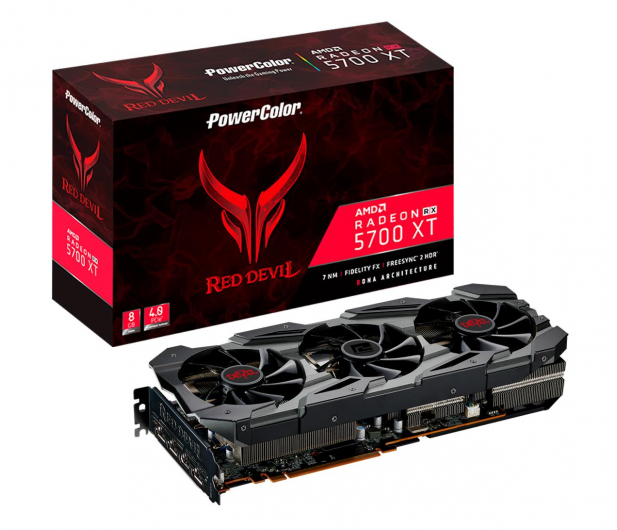 PowerColor Radeon RX 5700 XT Red Devil 8GB GDDR6 - 515066 - zdjęcie