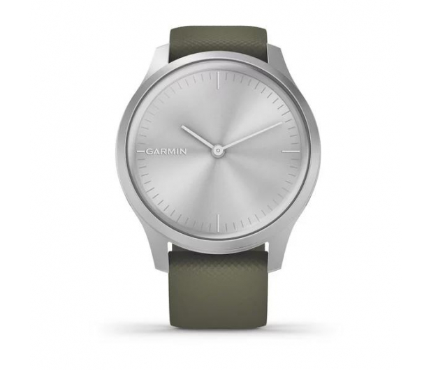 Garmin vivomove 3 Style srebrno - zielony Gorilla Glass - 515087 - zdjęcie 2