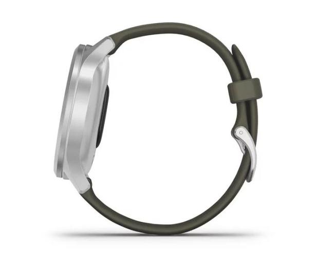 Garmin vivomove 3 Style srebrno - zielony Gorilla Glass - 515087 - zdjęcie 5