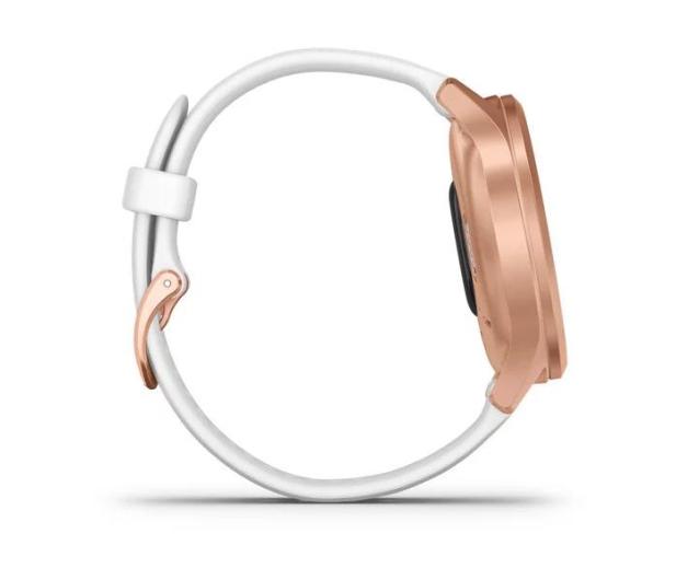 Garmin vivomove 3 Style różowozłoty - biały Gorilla Glass - 515086 - zdjęcie 6