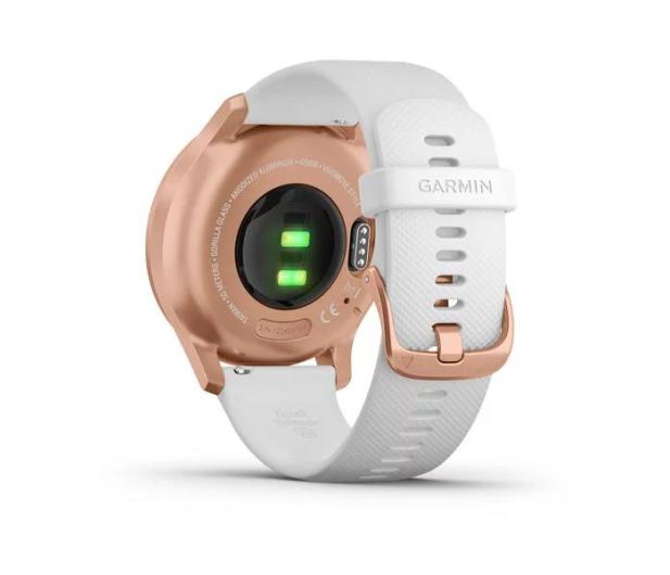 Garmin vivomove 3 Style różowozłoty - biały Gorilla Glass - 515086 - zdjęcie 4
