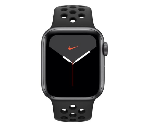 Apple Watch 5 Nike 40/Space Gray/Black Sport GPS - 515914 - zdjęcie 2