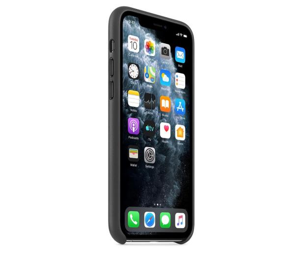 Apple Leather Case do iPhone 11 Pro Black - 514616 - zdjęcie 2