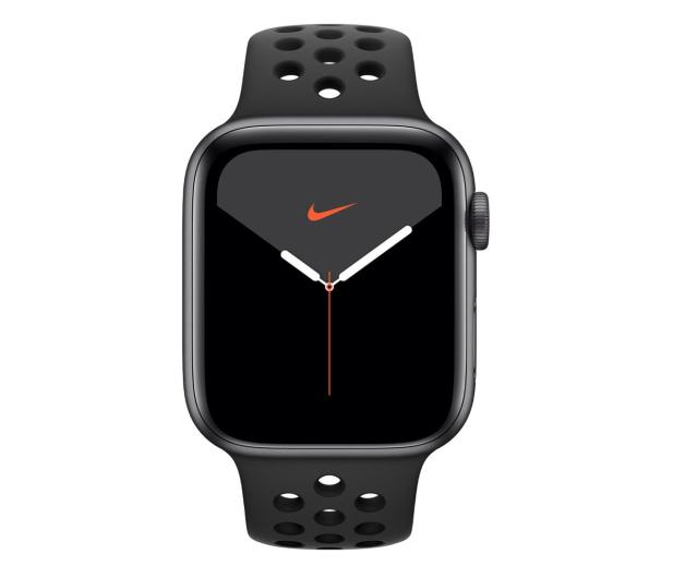 Apple Watch 5 Nike 44/Space Gray/Black Sport LTE - 515920 - zdjęcie 2