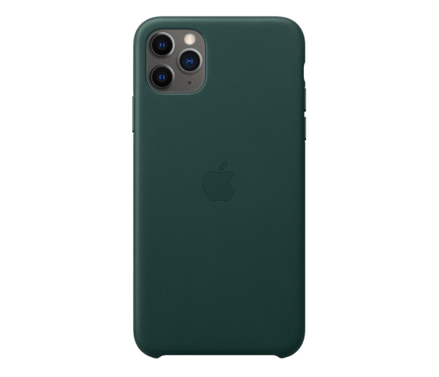 Apple Leather Case do iPhone 11 Pro Max Forest Green - 514660 - zdjęcie