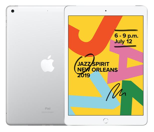 "Apple iPad 10,2"" 32GB Silver LTE - 515893 - zdjęcie"