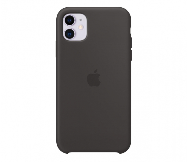 Apple Silicone Case do iPhone 11 Black - 515887 - zdjęcie