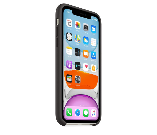 Apple Silicone Case do iPhone 11 Black - 515887 - zdjęcie 2