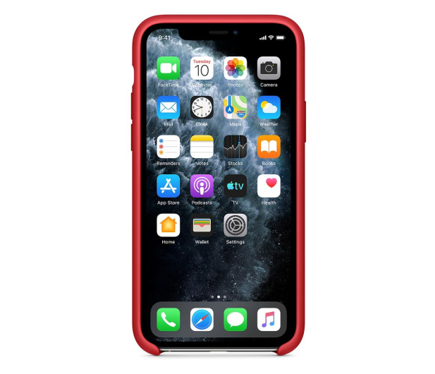 Apple Silicone Case do iPhone 11 Pro (PRODUCT)RED - 514609 - zdjęcie 3