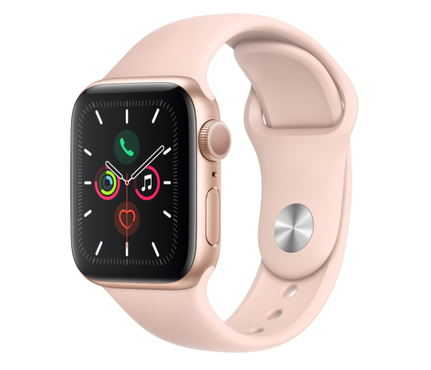 Apple Watch 5 40/Gold Aluminium/Pink Sport GPS - 515902 - zdjęcie
