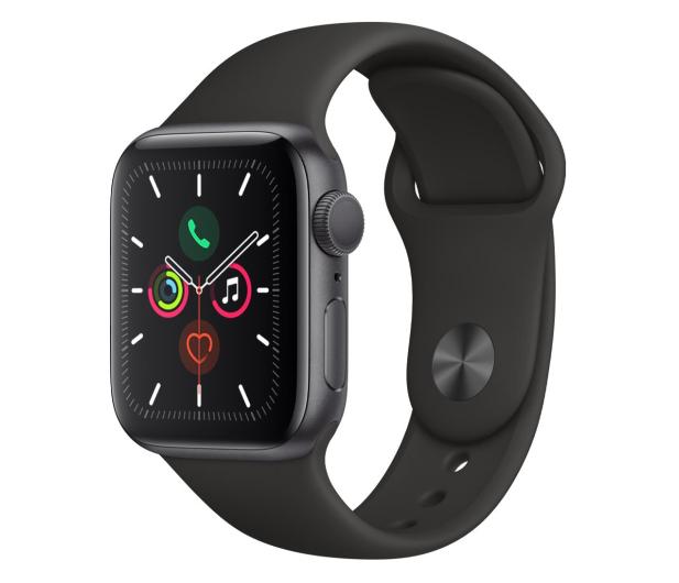 Apple Watch 5 40/Space Gray Aluminium/Black Sport GPS - 515903 - zdjęcie