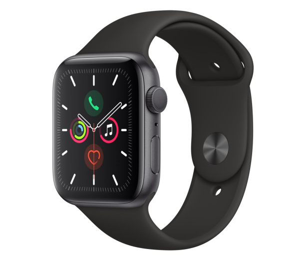 Apple Watch 5 44/Space Gray Aluminium/Black Sport GPS - 515909 - zdjęcie 1
