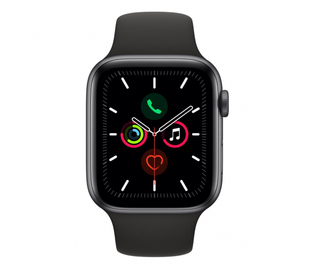Apple Watch 5 44/Space Gray Aluminium/Black Sport GPS - 515909 - zdjęcie 2