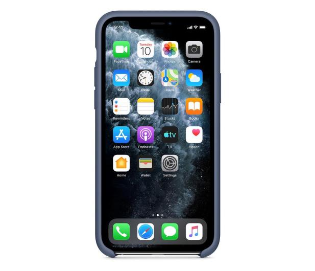 Apple Silicone Case do iPhone 11 Pro Alaskan Blue - 514643 - zdjęcie 3