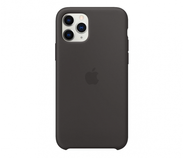Apple Silicone Case do iPhone 11 Pro Black  - 514606 - zdjęcie