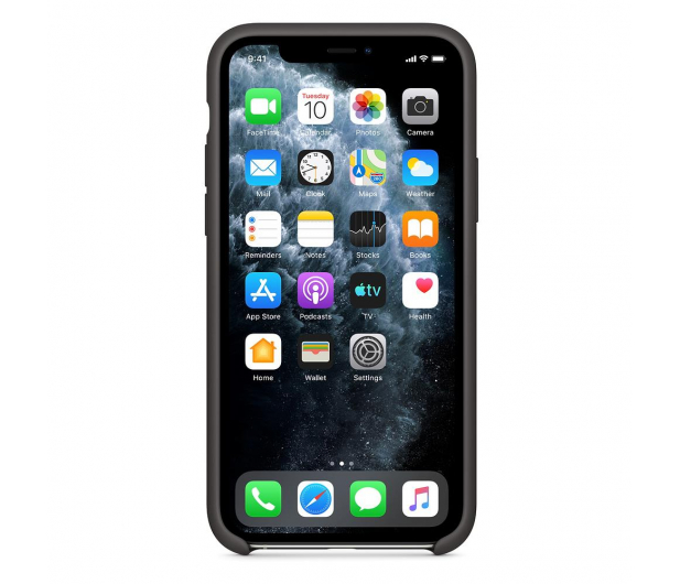 Apple Silicone Case do iPhone 11 Pro Black  - 514606 - zdjęcie 3