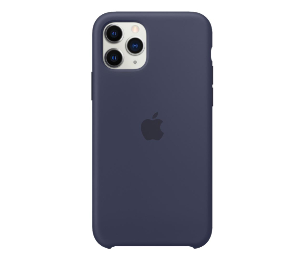 Apple Silicone Case do iPhone 11 Pro Midnight Blue - 514608 - zdjęcie