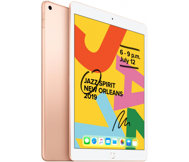 """Apple iPad 10,2"""" 32GB Gold Wi-Fi - 515891 - zdjęcie 2"""
