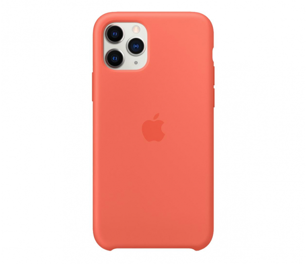Apple Silicone Case do iPhone 11 Pro Orange - 514644 - zdjęcie