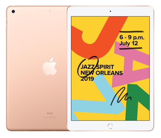 """Apple iPad 10,2"""" 32GB Gold Wi-Fi - 515891 - zdjęcie"""