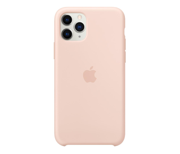 Apple Silicone Case do iPhone 11 Pro Pink Sand - 514635 - zdjęcie