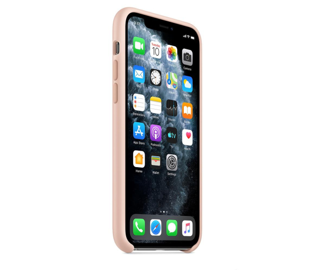 Apple Silicone Case do iPhone 11 Pro Pink Sand - 514635 - zdjęcie 2